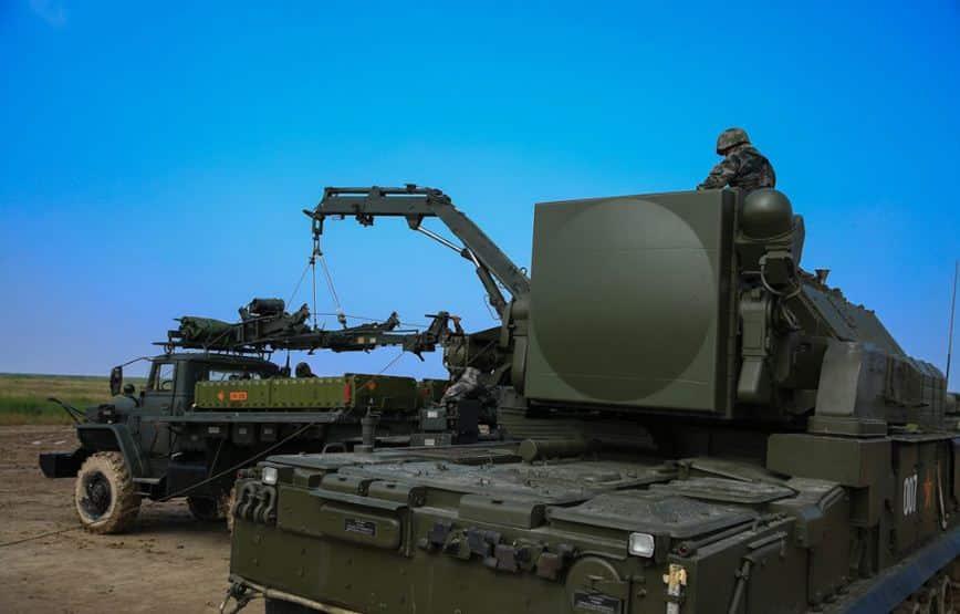 HQ-17 نظام صواريخ جوية النسخة الصينية شبيهة تور الروسي