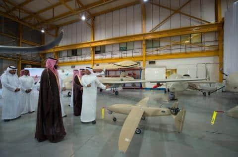 بدون طيار السعودية