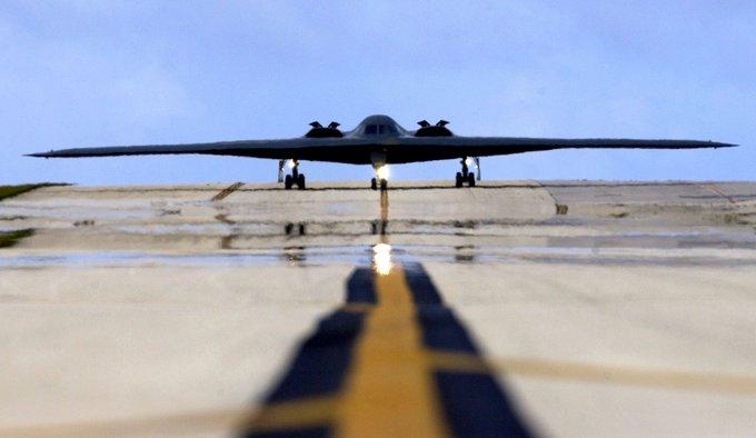 """كشف بعض خصائص القاذفة السرية """"بي-21"""" الأمريكية"""