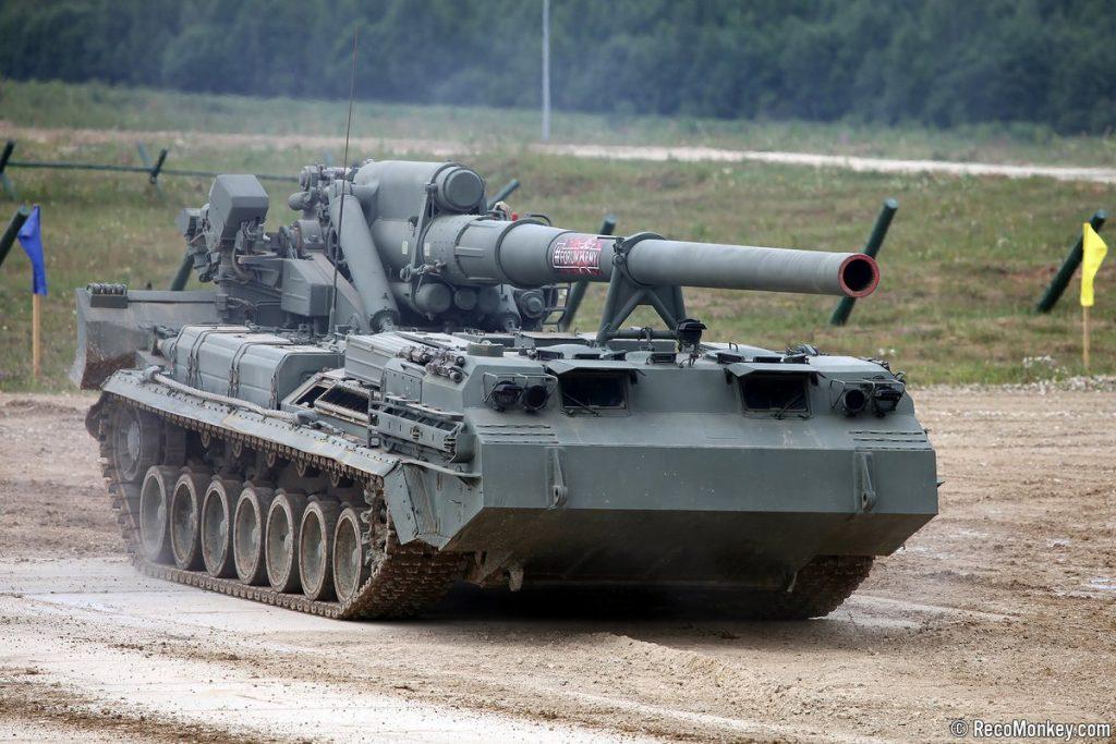 """الجيش الروسي يبدأ بتسلم أقوى مدفع في العالم """"مالكا"""""""