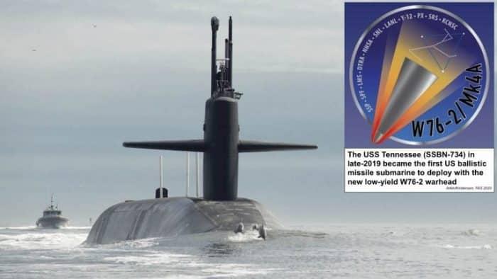 روسيا سترد نوويا على أي هجوم أمريكي من غواصاتها