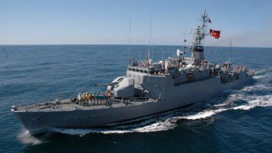 Photo of سفينة حربية تركية تقصف مواقع الجيش الليبي (فيديو وصور)