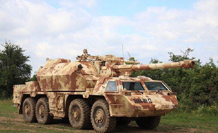 DANA M1 CZ نظام المدفعية التشيكي المطور..تعرف مميزاته وقدراته