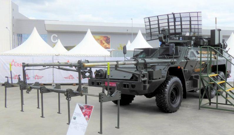 روسيا تطور كاشف قنابل مغناطيسية جديد للوحدات الهندسية