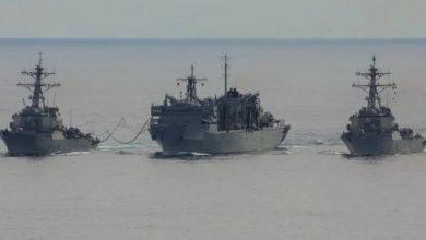 Photo of سفن أمريكية وبريطانية تجري تمرينًا في القطب الشمالي لمواجهة روسيا