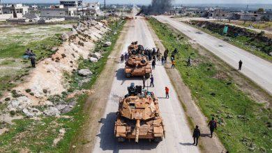 Photo of ادلب ,,, مصرع جندي تركي بانفجار بدوريتهم على طريق M4