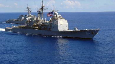 Photo of البحرية الأمريكية تحقق في تسرب 4000 جالون ديزل من سفينة حربية في نهر!