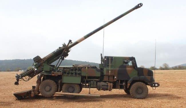 الجيش الدنماركي يحصل على نظام المدفعية الفرنسي CAESAR..تعرف مميزاتها