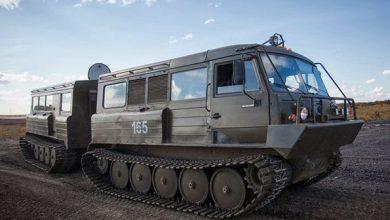 Photo of Ruslan حاملة شاحنات روسية مفصلية لجميع التضاريس