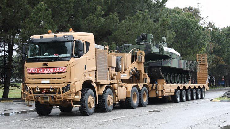 BMC Tugra ناقلة الدبابات التركية الجديدة