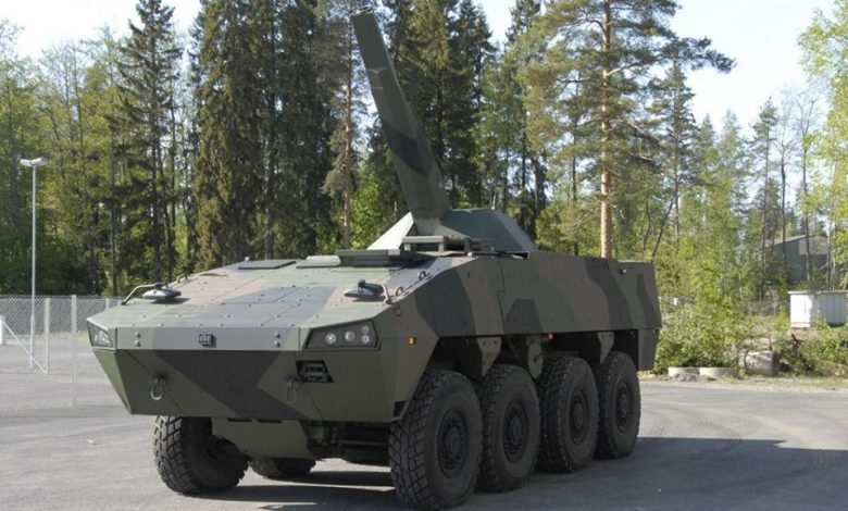 Patria Nemo مدفع هاون فنلندي بقدرات برية وبحرية عالية