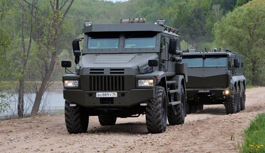 """روسيا تنهي تطوير مركبة مدرعة للإنزال الجوي """"تايفون"""""""