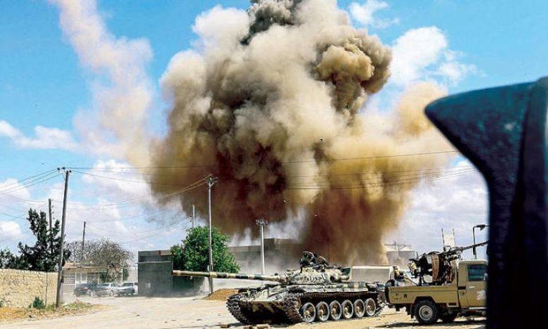 الجيش الليبي التابع للوفاق يسيطر على مدينة الأصابعة ومنطقة جندوبة