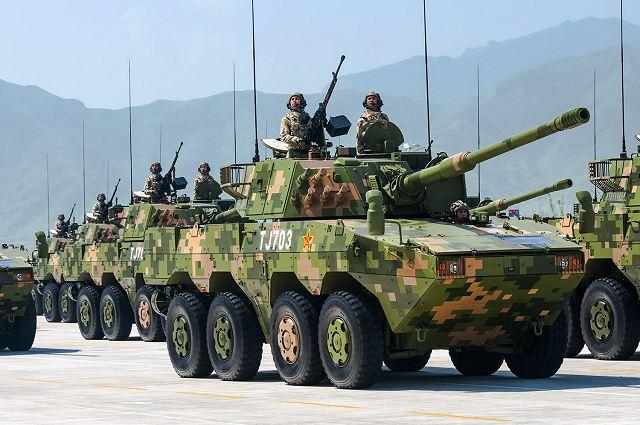 مركبة ZTL-11 مدرعة هجومية جديدة في الخدمة مع الجيش الصيني