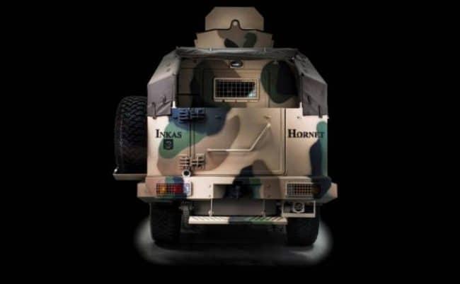 INKAS للسيارات في الإمارات تكشف عن سيارتها المدرعة الجديدة Hornet 4x4