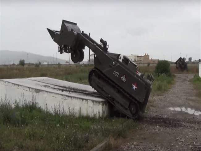 الجيش الروسي يحصل على منظومات أوران-6 الروبوتية المضادة للألغام ..تعرف مميزاتها