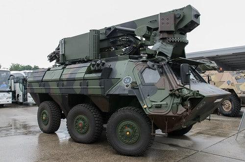الجيش الألماني يتزود بمركبات Fuchs KAI لتدمير الذخائر المتفجرة