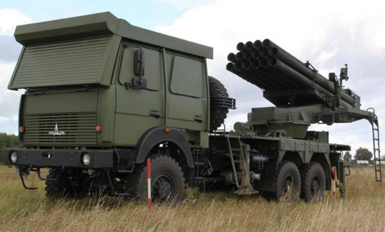 Uragan-M نظام إطلاق صاروخي تعديل بيلاروسي