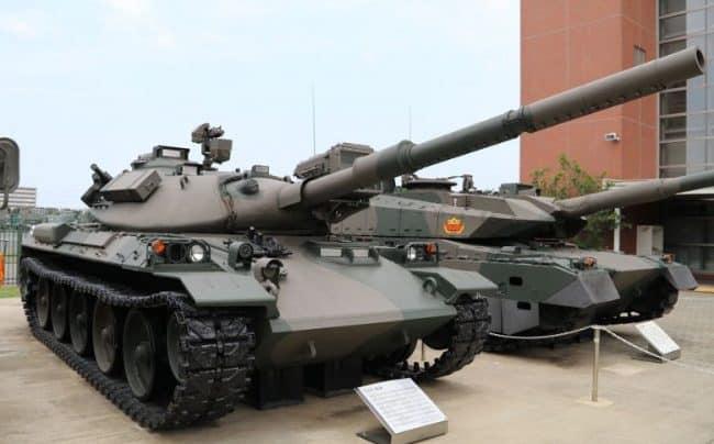 الجيش الياباني يتسلح بالدبابة الرئيسية MBTs..تعرف على قدراتها