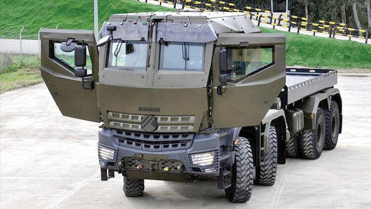Derman شاحنة نفعية ثقيلةصناعة تركية ..تعرف قدراتها ومميزاتها