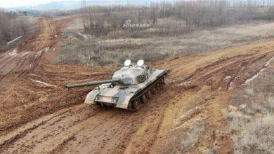 """Photo of ظهور دبابة صينية غريبة الشكل تشبة الدبابة """"96""""..صور"""