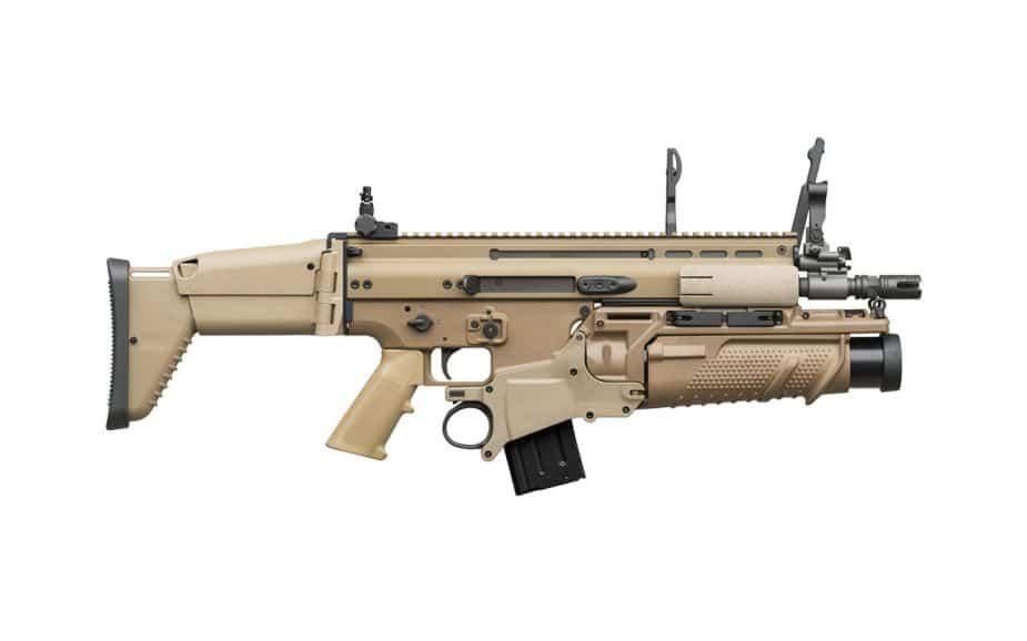 FN SCAR-L  بندقية هجومية بلجيكية بمواصفات عالية