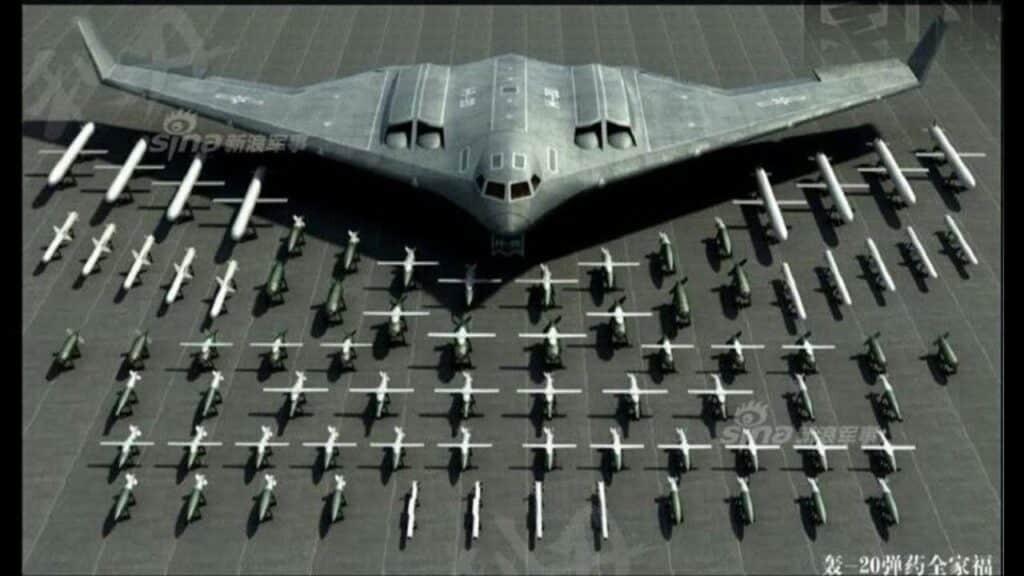 """قاذفة القنابل """"إتش-20"""""""