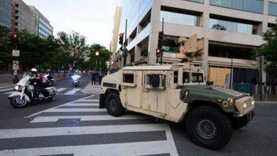 Photo of الجيش الأمريكي ينتشر في شوارع العاصمة واشنطن لحمايتها