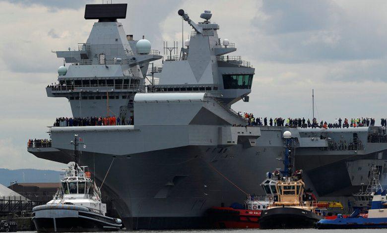 بريطانيا تفقد قوتها العسكرية البحرية الضاربة وحلمها يتبدد