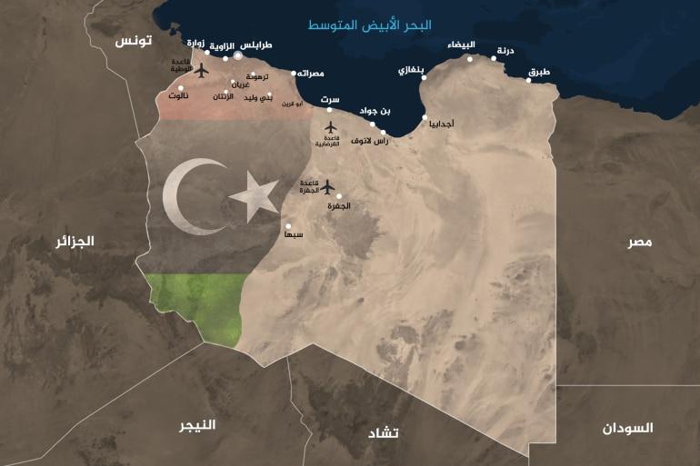السيسي يحدد 5 نقاط حاسمة تحدد سياسة مصر في ليبيا