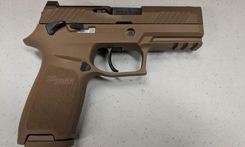 سيج سوير M18 مسدس أمريكي عيار 9 ملم جديد