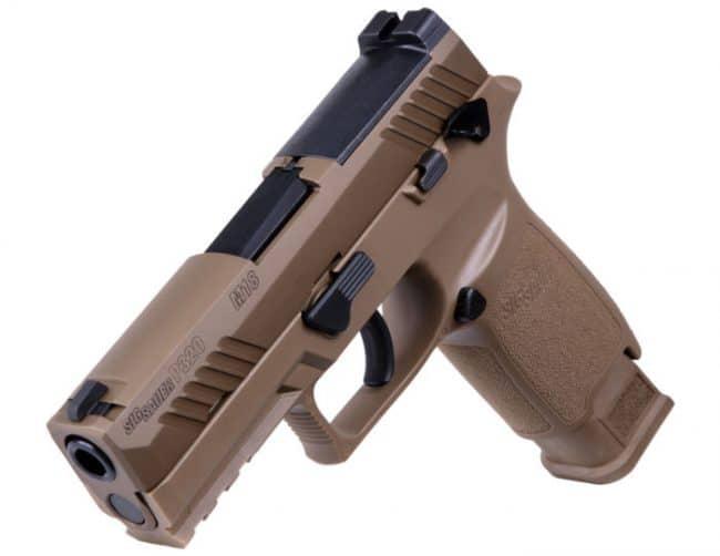 سيج سوير M18 مسدس أمريكي عيار 9 ملم جديد ..تعرف مميزاته