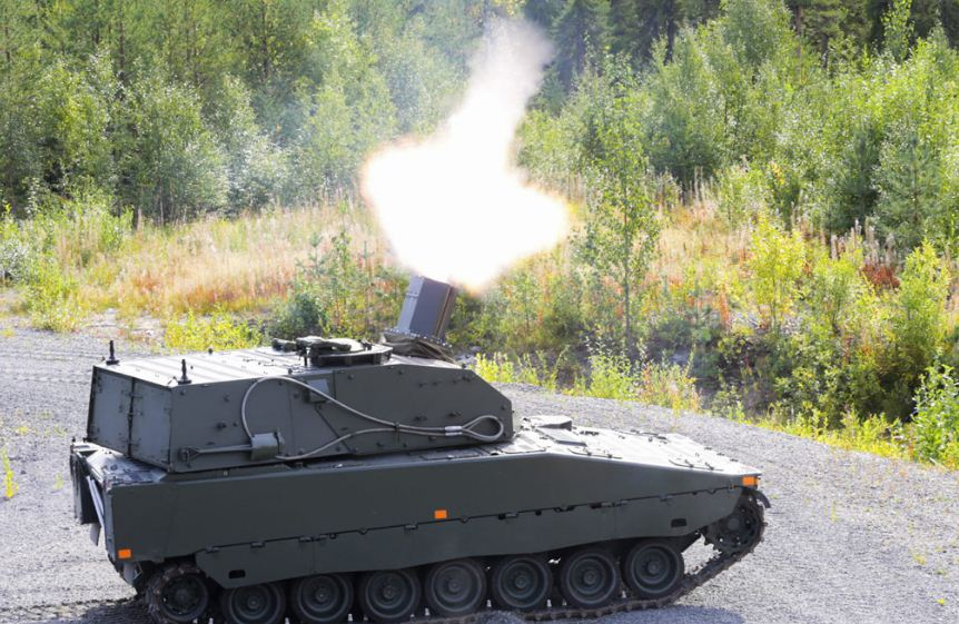 CV90 Mjolner نظام هاون سويدي