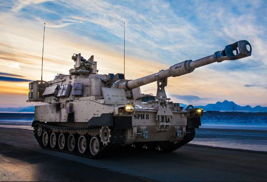 الجيش الأمريكي يستلم أحدث نسخة من هاوتزر ذاتية الدفع بالادين