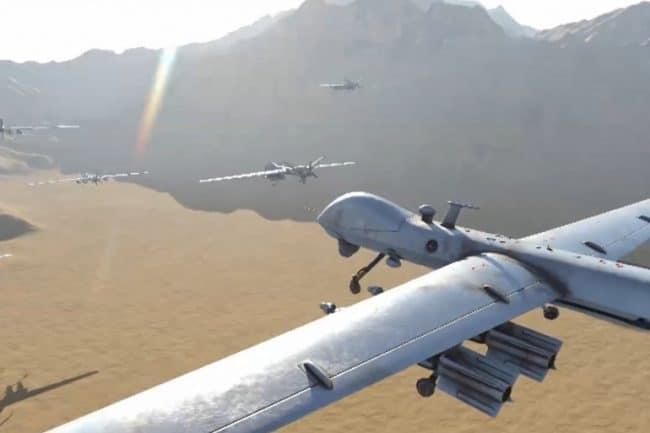 هجوم بصواريخ باليستية ومسيرات على الرياض ونجران وجازان