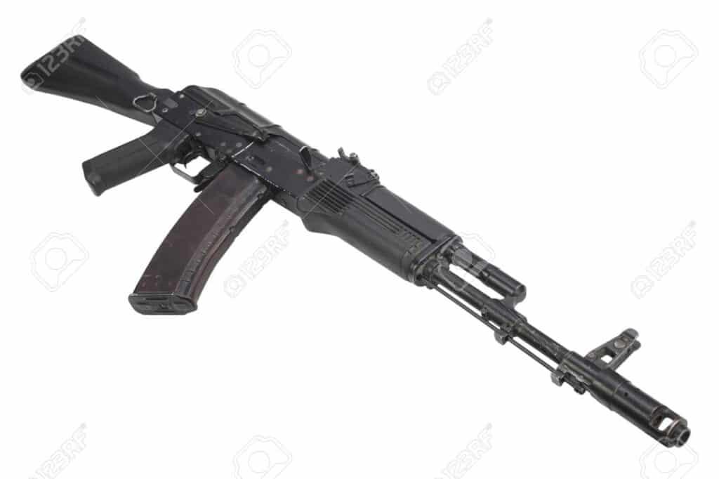 عرض النموذج الأولي لبندقية AK-74M بمميزات وقدرات عالية.