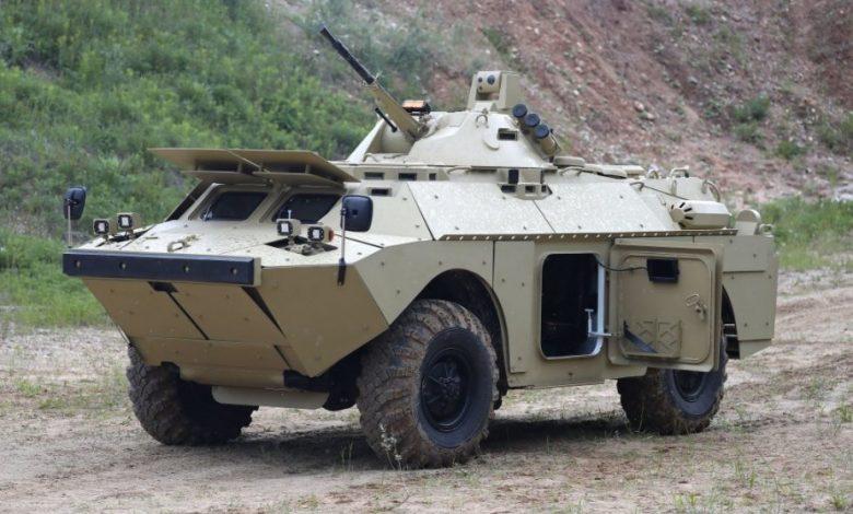 BRDM-2MB مركبة استطلاع روسية مدرعة ومطورة وهذه مميزاتها