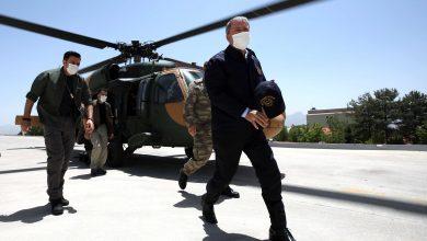 Photo of وزير الدفاع التركي وقادة الجيش يزورون شمال العراق ..صور