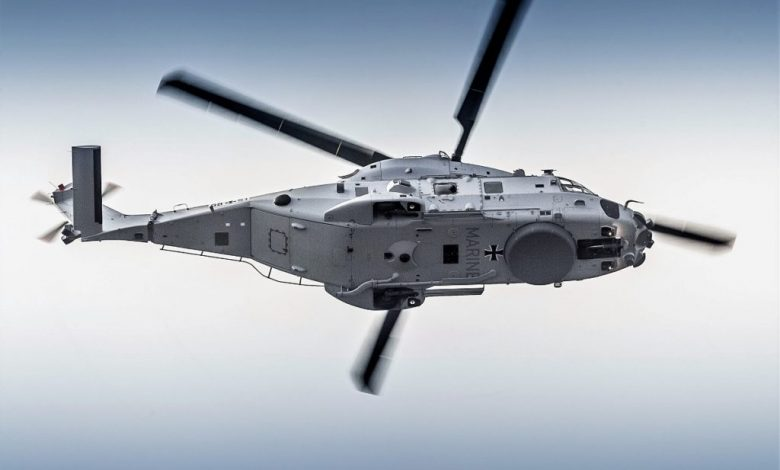 NH90 طائرة هليكوبتر متعددة الأدوار تتعقب الغواصات بمهارة