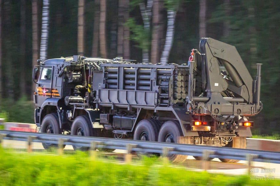 الكشف عن نظام هندسة التعدين عن بعد ISDM الروسي في موكب النصر في موسكو