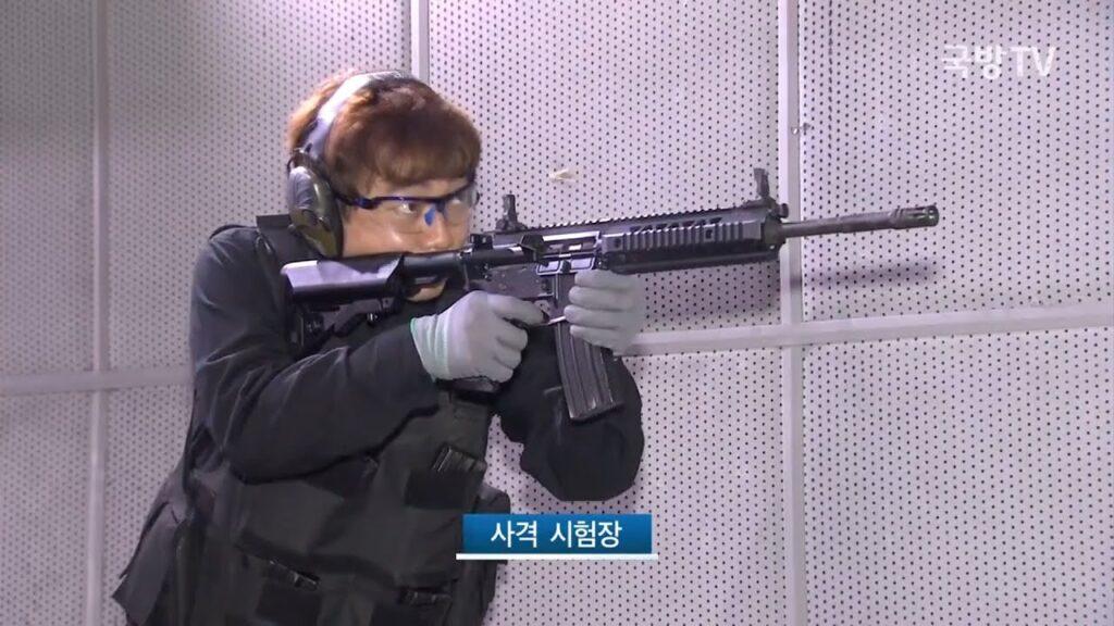 القوات الخاصة لكوريا الجنوبية تعتمد بندقية DSAR-15P كبندقية هجومية مستقبلية
