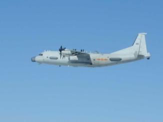 مقاتلة يابانية تعترض طائرة مراقبة صينية في أجوائها