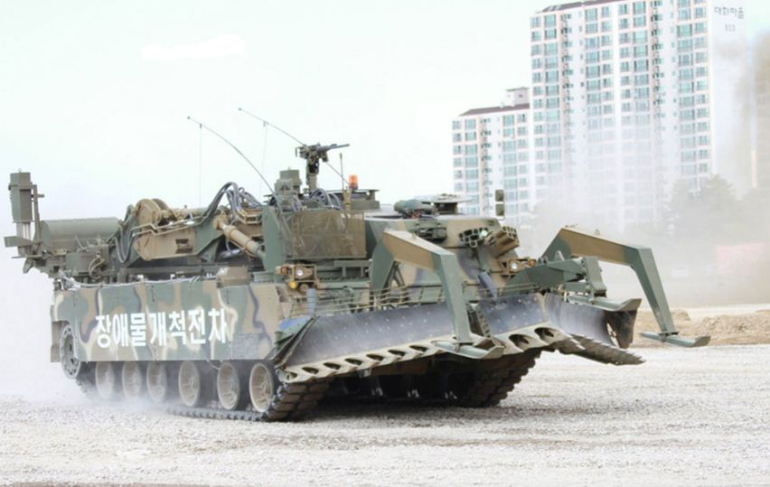 K600 مركبة خرق حقل ألغام خاصة بالجيش الكوري