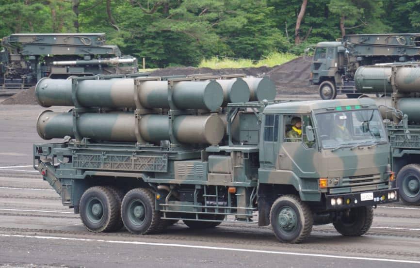 نظام الصواريخ اليابانية المضاد للسفن من نوع 88 صواريخ تشبه هاربون الأمريكية
