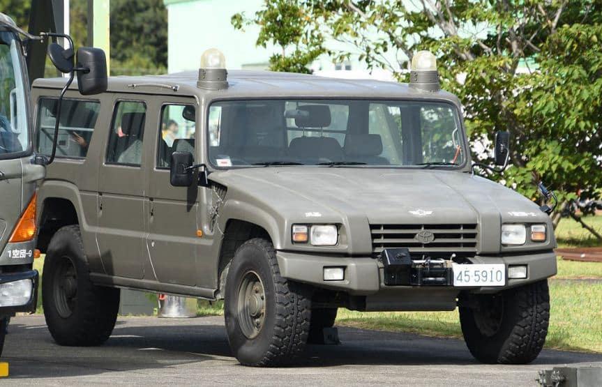 تويوتا ميجا كروزر مركبة للطرق الوعرة خاصة بالجيش الياباني