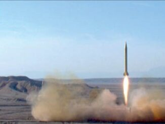إيران تطلق صواريخ من أعماق الأرض للمرة الأولى في العالم