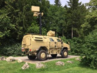 الرادار الألماني Hensoldt Spexer رادار مضاد للطائرات بدون طيار