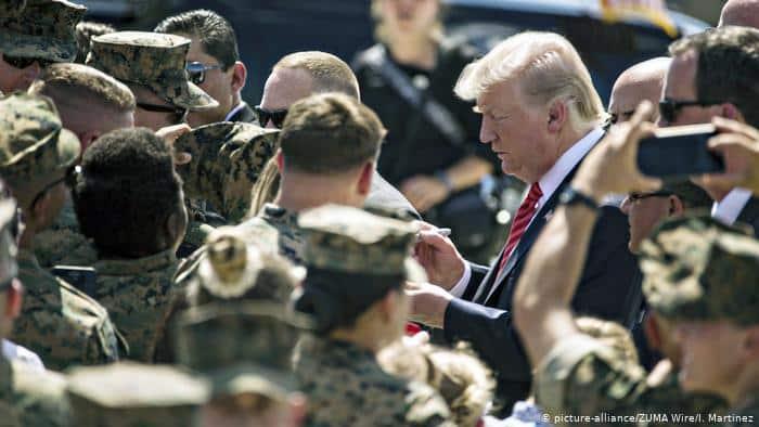أمريكا تضغط على أمانيا وتسحب 12 ألف عسكري