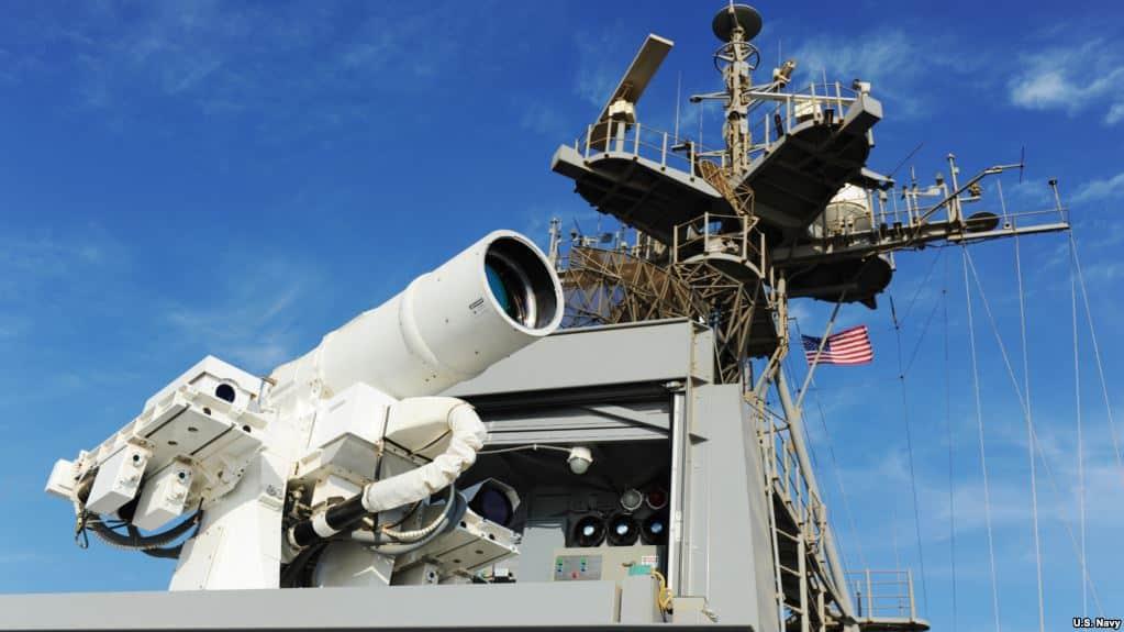 القوة العسكرية العالمية لأسلحة الليزر الجزء 1