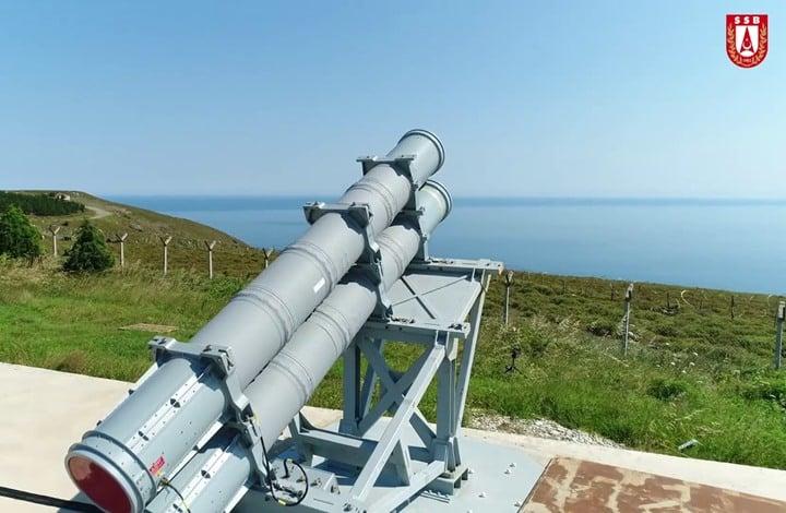 Atmaca صاروخ تركي جديد مضاد للسفن